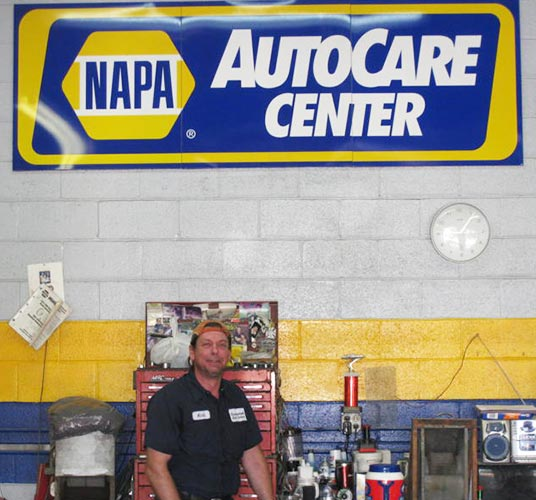 Guaranteed Auto Service certified NAPA Auto Care Center